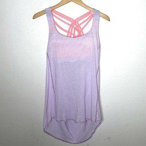 Lululemon Wild Tank Pretty Purple Bleacher Stripe